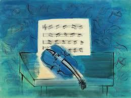 Raoul Dufy (1877-1953) | Le violon bleu