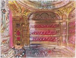 Raoul Dufy The Opera, Paris, early 1930s. Gouache on paper