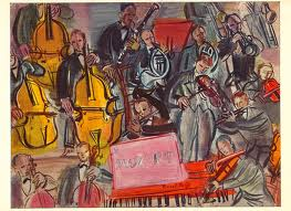Mozart Concerto by Raoul Dufy (1877-1953)