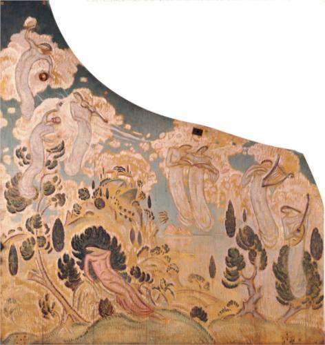 Κωνσταντίνος Παρθένης, Ζωγραφική διακόσμηση πιάνου, 1915-1920