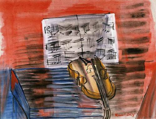 Raoul Dufy: The Yellow Violin (c. 1900)