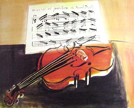 Raoul Dufy: The Red Violin(1948)
