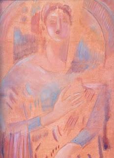 Κωνσταντίνος Παρθένης,   Άγγελος με άρπα