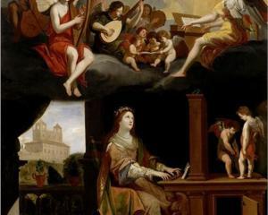 St. Cecilia - Jacques Stella, 1626
