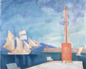 The harbor of Kalamata, 1911
