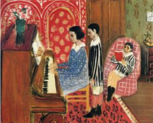 The Piano Lesson - Henri Matisse